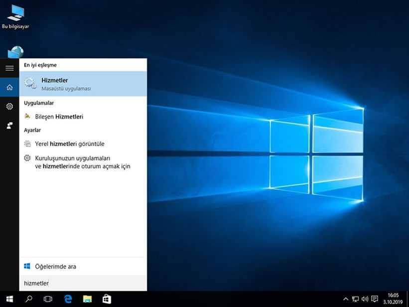 Windows 10 Güncelleştirmeleri Kapatma Adım 1