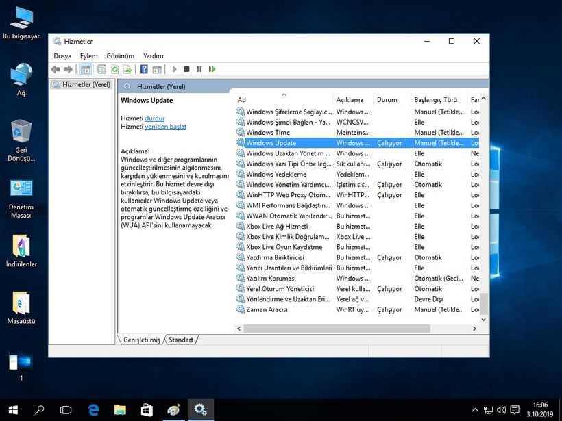 Windows 10 Güncelleştirmeleri Kapatma Adım 2