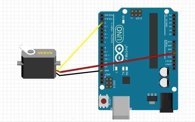 Arduino ile Servo Motor Kontrolü