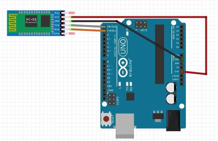 Arduino ile HC06 Bluetooth-Serial Modül Kartı Kullanımı