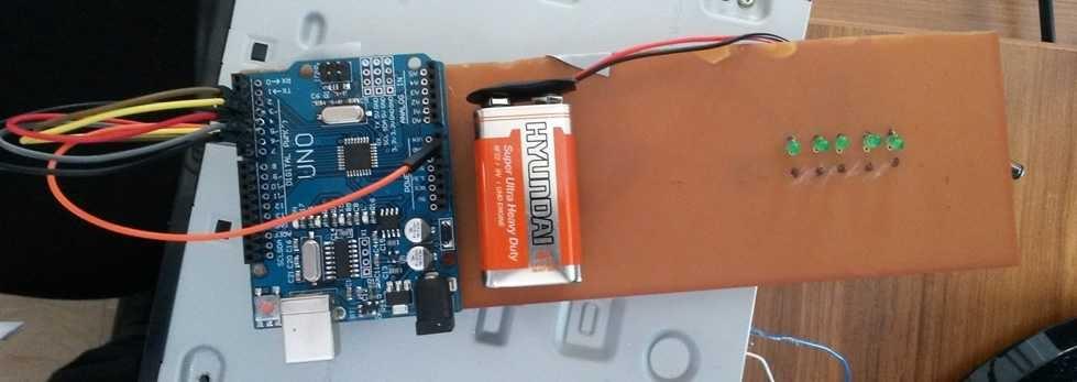Arduino ile Havaya Yazı Yazdırma